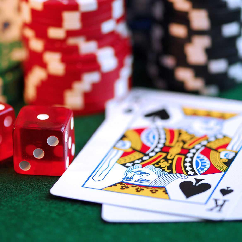 through playing poker games