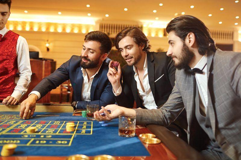 Playing Slot Machines at a Casino